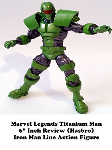 Review: Marvel Legends Titanium Man 6