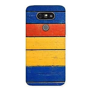 Wood Decks Back Case Cover for LG G5