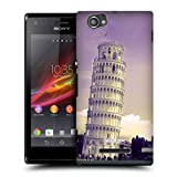 Head Case Leaning Tower Of Pisa Italy Places Case For Sony Xperia M C1905 C1904