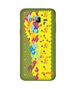 Stripes And Elephant Print-75 Samsung Galaxy J2 Case