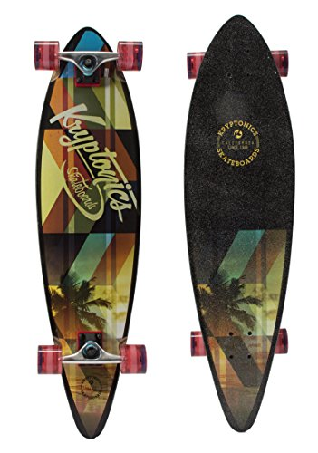Kryptonics California Series 23'-Skateboard Multicolore
