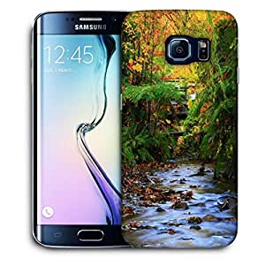 Snoogg Colordul Trees Printed Protective Phone Back Case Cover For Samsung Galaxy S6 EDGE / S IIIIII