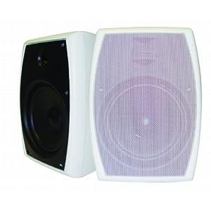 Amazon - AudioSource 2-Way Indoor/Outdoor Speaker Pair - $41.99
