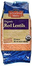 Arrowhead Mills Organic Red Lentils-16 oz