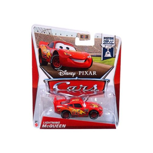 Disney / Pixar CARS MAINLINE 1:55 Die Cast Car Lightning McQueen [Piston Cup 14/18]