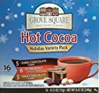 Grove Square Holiday Variety Hot Cocoa, Single Serve Cup for Keurig K-Cup Brewers (96 Count)