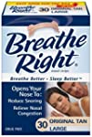 Breathe Right Large Tan (3 pack) 90 S...