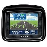 """TomTom Urban Rider Central Europe Motorrad-Navigationssystem (8,9 cm (3,5 Zoll) Display, IQ Routes, Fahrspurassistent) mattschwarzvon """"TomTom"""""""