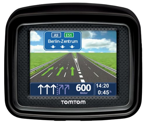 TomTom IQ Routes Urban Rider Central Europe Motorrad-Navigationssystem
