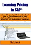 Learning Pricing in SAP (SAP Professional Briefs) (English Edition)