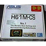 Asus H61M-CS - H61 Express Chipset LGA1155 Socket MotherBoard For 3rd/2nd Generation