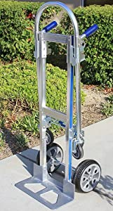 NEW Durable Collapsible 3Position Convertible Aluminum Platform Hand Truck Dolly
