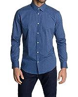 ESPRIT Collection Herren Slim Fit Businesshemd 025EO2F034