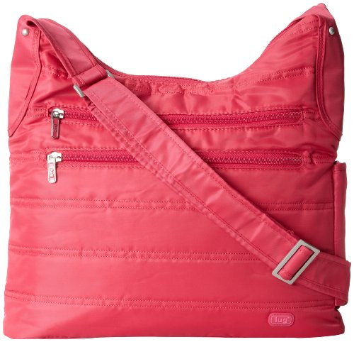 Lug Cable Car Satchel, Rose Pink, One Size