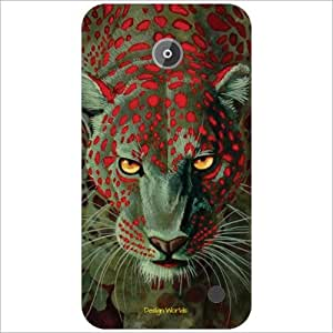 Design Worlds - Nokia Lumia 630 Designer Back Cover Case - Multicolor Phone...