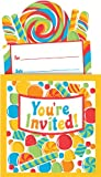 Sugar Buzz Party Invitations