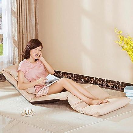 divano pigro Tatami sedia Divertimento creativo individuale Divano in tessuto divano Sedile pieghevole