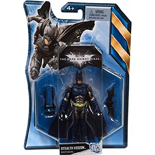 Batman The Dark Knight Rises Stealth Vision Batman 4 Inch Scale Action Figure