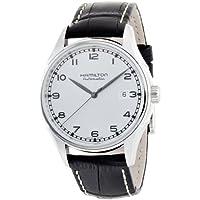 Hamilton Mens H39515753 Valiant Silver Dial Watch