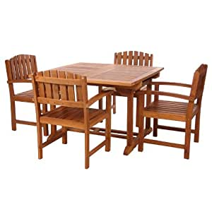 Teak Outdoor Dining Chairs Table Sets And