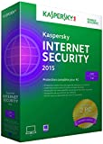 Kaspersky internet security 2015 (2 postes, 1 an)