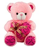 Dhoom-Soft-Toys-Teddy-Bear-Lace-Heart-Pink-45-CM