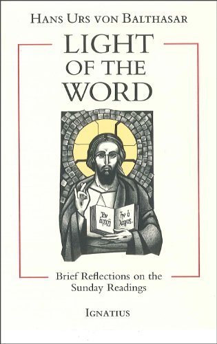 Light of the Word: Brief Reflections on the Sunday Readings