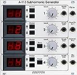 Doepfer A-113 Subharmonic Generator/A-100 モジュラーシンセサイザー サブハーモニック ジェネレーター
