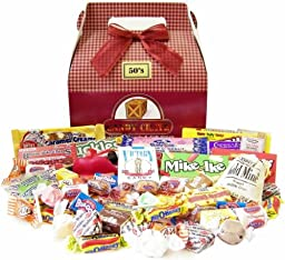 Candy Crate 1950\'s Retro Candy Gift Box