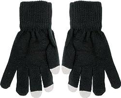 True Gear Adult Touch Gloves (black)