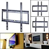 SAVFY Universal TV Mount Wall Slim Bracket for LED LCD 3D Plasma HD lg samsung sony sharp TVs, fits 32