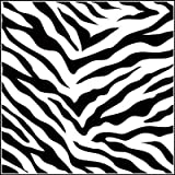 "Crafter's Workshop Templates 12""X12""-Zebra Print"