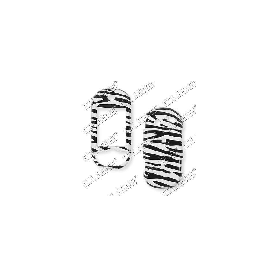 Pantech Matrix Pro c820ZEBRA BLACK/WHITE Hard Case/Cover/Faceplate/Snap On/Housing/Protector