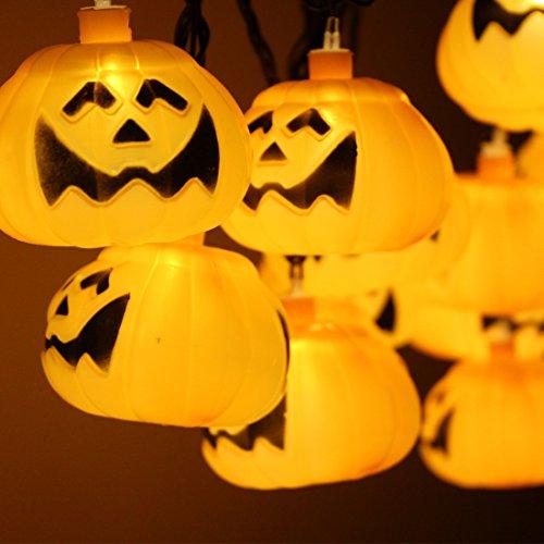 halloween novelty string lights