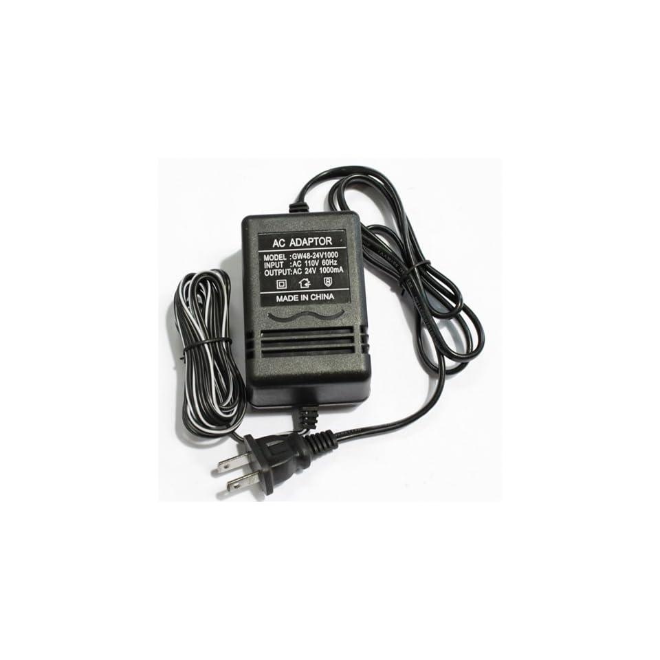 Power Adapter (AC 24V 1A) CCTV Surveillance Security Cameras