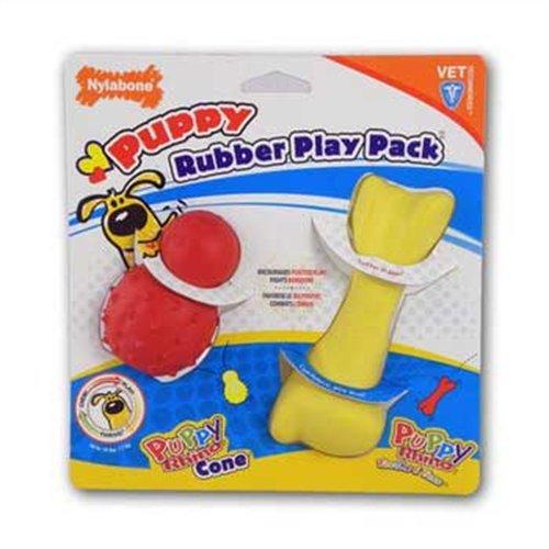 Nylabone Puppy Rhino Teethers Chew Toy, Medium