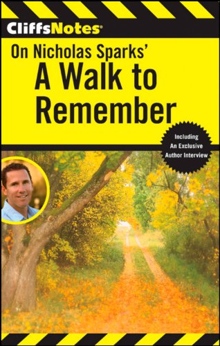 a walk to remember literary device