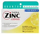 Zinc Lozenges Lemon Cold Season - 24 Each