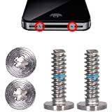 iPhone 4 / 4S 2x Pentalobe Torx Schrauben Set Silber - Silver