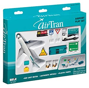 Amazon.com: AirTran Airlines 12-Piece Playset: Toys & Games