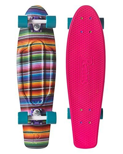 Penny Nickel Graphic Complete Skateboard Space Navy 27