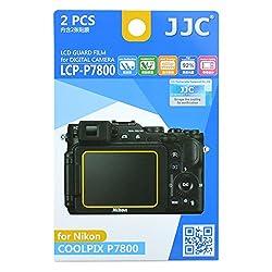 JJC LCP-P7800 Guard Film Digital Camera LCD Screen Protector For Nikon P7800
