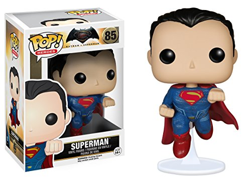 Funko POP Heroes: Batman vs Superman - Superman Action Figure at Gotham City Store