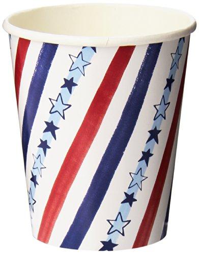 Meri Meri Stars And Stripes Patriotic Party Cups, 12-Pack
