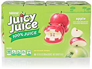 Juicy Juice Apple Slim Pack (8 Count, 6.75 Fl Oz Each)