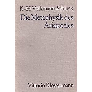 Die Metaphysik des Aristoteles
