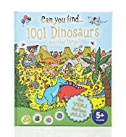Can You Find 1001 Dinosaurs and Other Things? Book