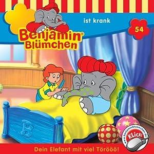 Benjamin ist krank (Benjamin Blümchen 54) Hörspiel