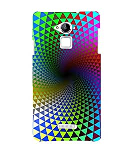 printtech Colored Pattern Design Back Case Cover for Coolpad Note 3