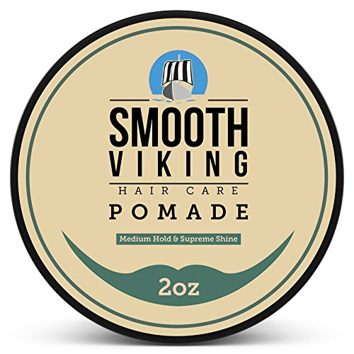 Pomade for Men - Best Hair Styling Formula for Medium Hold and...